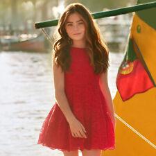 Vestido de niña Mayoral color rojo    Mayoral 6912 color 69