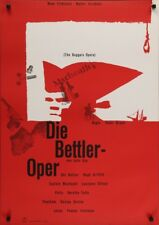 BEGGAR'S Opera Deutsch A1 Filmposter 1953 Laurence Olivier Hans Hillmann NM