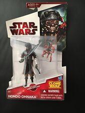 Star Wars The Clone Wars Hondo Ohnaka Cw41 BNIP Discontinued Rare