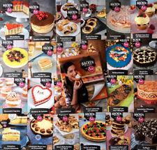 Backen mit Globus und Sally 52 Rezeptkarten und Ordner Stück Kuchen Rezept Torte