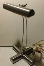 Tensor Brushed Stainless Steel Adjustable Arm Desk Table Lamp Reading Light