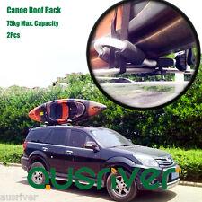2Pcs Rustproof Aluminum Alloy L Shape Kayak Canoe Carrier Holder Foldable Rack