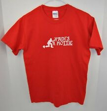 YADIE IS A HOTTIE ST LOUIS CARDINALS MLB YADIER MOLINA T-SHIRT ADULT SIZE SMALL