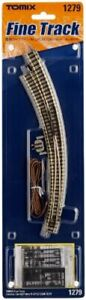 Tomix 1279 Electric Curved Turnout N-CPL317 / 280-45 (F) Power-routing (N scale)