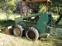 JD John Deere 170 Skid steer loader Technical SERVICE REPAIR MANUAL CD TM1075