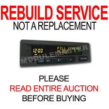 99 00 01 02 03 Saab Information Display SID LCD Panel REBUILD 9-3 9-5