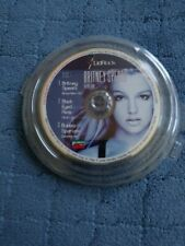 Very Rare Britney Spears LidRock Promo Mini CD 2003 Brave New Girl / In The Zone