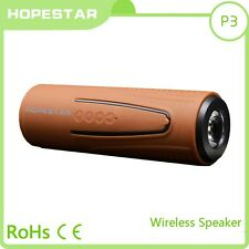 Hopestar P3 Bluetooth Inalámbrico Impermeable Bicicleta Altavoz & Potencia Bank