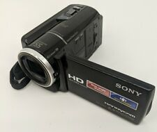 Sony Handycam HDR-XR260V (160 GB) AVC Camcorder GPS  no charger.