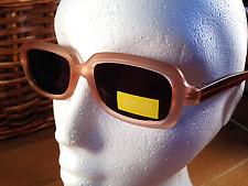 femmes bicolore marron rectangulaire rétro ce gris Lunettes de soleil verres