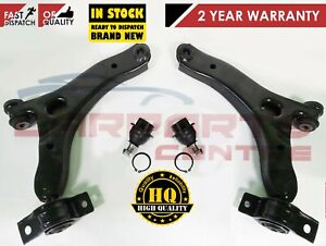 FORD TRANSIT CONNECT FRONT SUSPENSION 2 LOWER WISHBONE ARMS BUSHES & BALL JOINTS