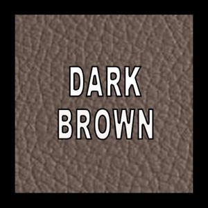 500ml Dark Brown Leather Vinyl Recolour Restore Paint Colourant Dye Faded Worn