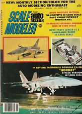 Scale Modeler June 1984 - Lancia LC 2 - Sea King Copter - F-105G Thunderchief
