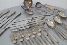 edles JKD 100er Silber Tafelbesteck 42 teilig für 12 Personen 30er J. Solingen