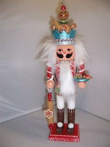 Gingerbread King Hand Painted Nutcracker