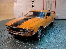 Franklin Mint 1970 Mustang Mach 1.1:24.Mint In Foam.Rare Car.Perfect Pony
