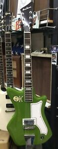 Eastwood Airline Green Jetsons Jr Electric Guitar Beauty