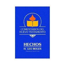 Comentarios Del Nuevo Testamento : Hechos by H. Leo Boles (2001, Paperback)