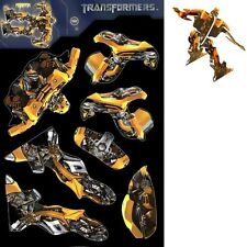 TRANSFORMERS MICRO MODELS FAVORS Party Cutouts Bumblebee Boys Birthday Child NEW