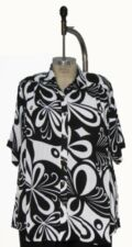 We Be Bop   Butterfly   NEW  Tunic    1X