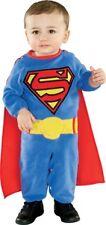 Ragazzi Bambino Neonato SUPERMAN Halloween Costume Per 0-6 mesi