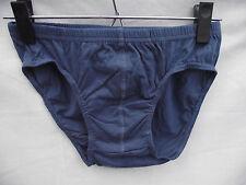BNWOT Mens Sz Small 100% Cotton Dusty Blue Clasic Style Briefs/Underpants