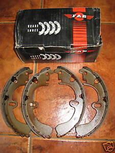 NEW REAR BRAKE SHOES - FITS: TOYOTA COROLLA - AE80 & AE82 & EE80