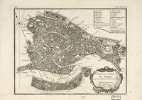 Plan de la ville de Venise (Bellin, Jacques Nicolas) 1764 - Poster métal