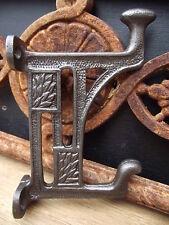5 Mackintosh Style Iron Coat Hooks old vintage style pegs knobs rack arts crafts