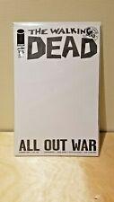 The Walking Dead #115 Blank Sketch Cover NM/MINT 9.8