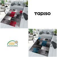 Teppich Modern Kurzflor  Mehrfarbig für Wohnzimmer Schlafzimmer Viereck Muster