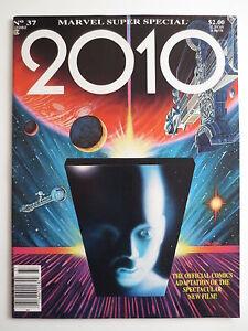 1984 MARVEL #37 COMIC MAGAZINE 2010 FILM ADAPTATION LARRY HAMA ART (M623)