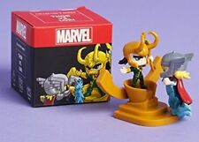 LootCrate Marvel Thor vs Loki Collectible Collectors Mini Figure New in Box