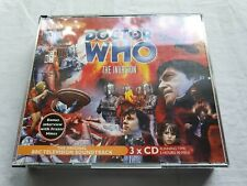 DOCTOR WHO The Invasion  3 x CD BOX SET  2005 MINT-