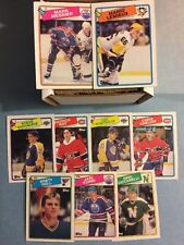 1988-89 Topps Hockey Near Set- Missing 1- Cool Set! (188/189)