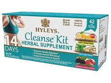 Hyleys Tea 14 Days Cleanse Kit - 42 Tea Bags