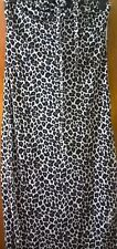 Avon Animal Sparkle Reversible Maxi Dress UK Size M 10/12