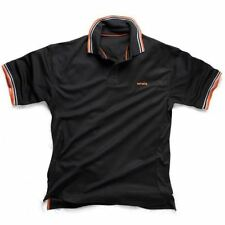 Scruffs Active Polo Shirt Extra Large XL Black T51473