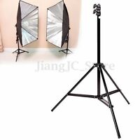240cm 7'8'' Flash Light Stand Tripod for Photo Studio Video Lighting Kit Set