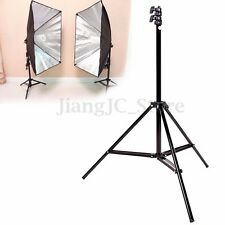 240cm 7'8'' Flash Light Stand Tripod for Photo Studio Video Lighting Kit Set