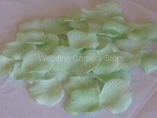 1000 GREEN silk rose petals wedding party favors, NEW !