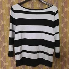 JONES NEW YORK SPORT Striped Sweater Size Medium MSRP$59.99