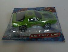 DIE CAST CAR  MARVEL HEROES  HULK   CAR GREEN SMASH