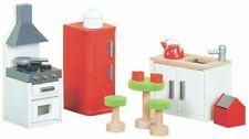 Le Toy Van DOLL HOUSE SUGAR PLUM KITCHEN Wooden Toy BNIP