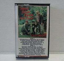 "Justin Wilson ""Shot Dem Duck and Hunt"" Audio Cassette Tape LS 1121 Lone Star HTF"