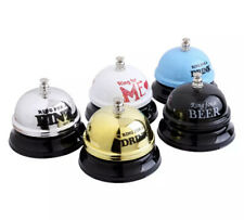 Bell Ring For Service Call Hotel Counter Reception Restaurant Bar Desk Table
