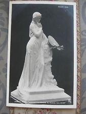 """CPA sculpture Salon Paris 1905  - Breton """"Hommage au peintre Paul Soyer"""""""
