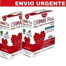 BNE013- CIRMAX Plus OMEGA 3 ACEITE DE KRILL DEL ANTARTICO 2x60c Envio24h