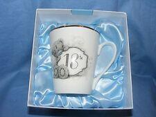 Me To You Bear 18th Birthday Mug  Present Gift G01M0355 Tatty Teddy NEW BOXED