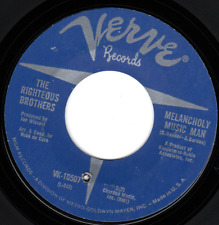 "Righteous Brothers Verve 10507 ""MELANCHOLY MUSIC MAN "" (GREAT ROCK N ROLL)"